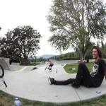 The Bingen skatepark is rad!