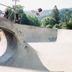 Evan Lane // Myrtle Creek, OR Skatepark // Boicott Weekend 2014
