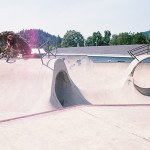 Matty Aquizap // Myrtle Creek, OR Skatepark // Boicott Weekend 2014
