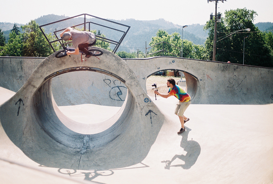 Ryan Barrett // Myrtle Creek, OR Skatepark // 2014 Boicott Weekend
