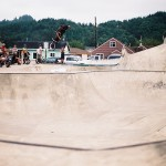Pauly Cvikevich // Reedsport, OR Skatepark // Boicott Weekend 2014