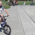 """Erik """"ODB"""" Jensen // // At the Goods BMX & BMX Museum // 2014 SOS Classic"""