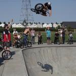 Jordan Hango // High Air Contest // At the Goods BMX & BMX Museum // 2014 SOS Classic