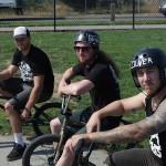 Jordan Hango // Evan Lane // Matt Desson // At the Goods BMX & BMX Museum // 2014 SOS Classic