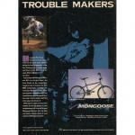 January 1991 BMX Plus Back Cover