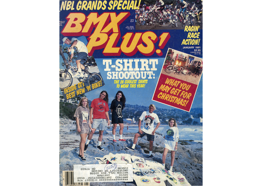 January 1991 BMX Plus Cover