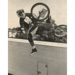 Ron Wilkerson // One Foot Tabletop // January 1991 // BMX Plus