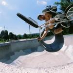 Codie Larsen // tabletop // St. Johns Skatepark // Portland, OR // By Shad Johnson