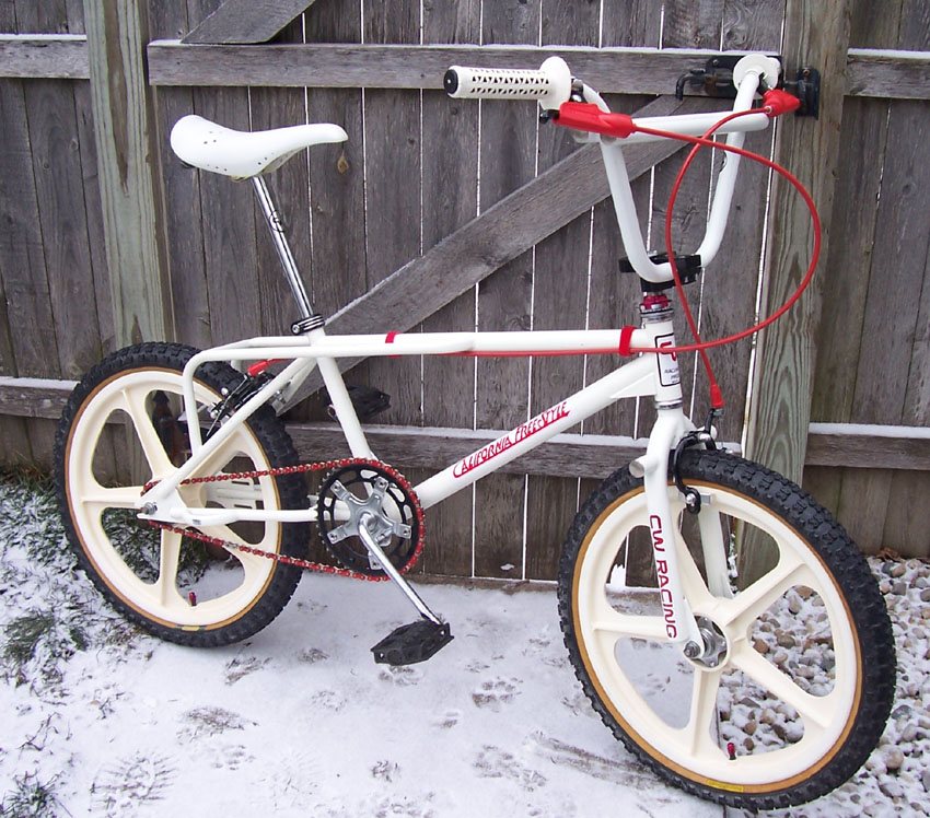 1984 // CW Racing // California Freestyle // From BMX Museum