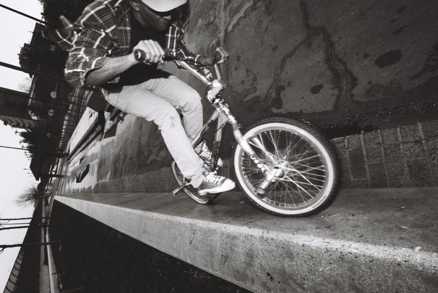 Jared Washington // Wallride on a 1995 Hoffman Taj