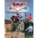 Flyn W Ad // Ride BMX // Issue 19