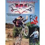 Flyn W Ad // Ride BMX // Issue 19