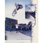 Taj Mihelich // Turndown // 1995 Hoffman OKC BS Contest // Ride BMX Issue 19