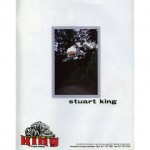 Stuart King // Tabletop // 1995 King Bike Co Ad // Ride BMX Issue 19