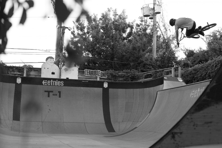 '...T1, the ramp I've been working on for well over a decade...' - Photo by Joe Rich