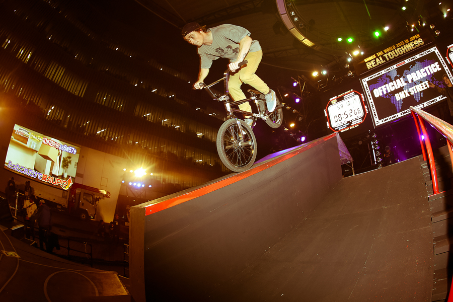 Bruno Hoffman // Ledge Nose Wheelie at Real Toughness