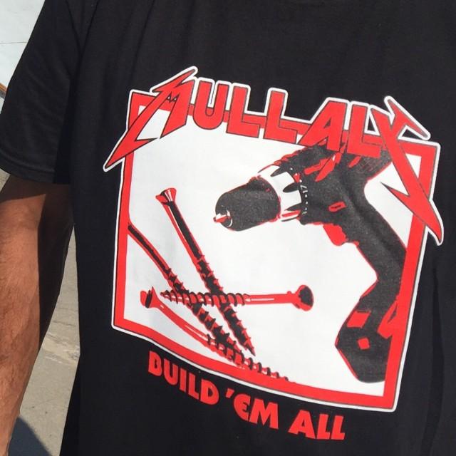 Mullaly // Build Em All // Fundraiser Shirt