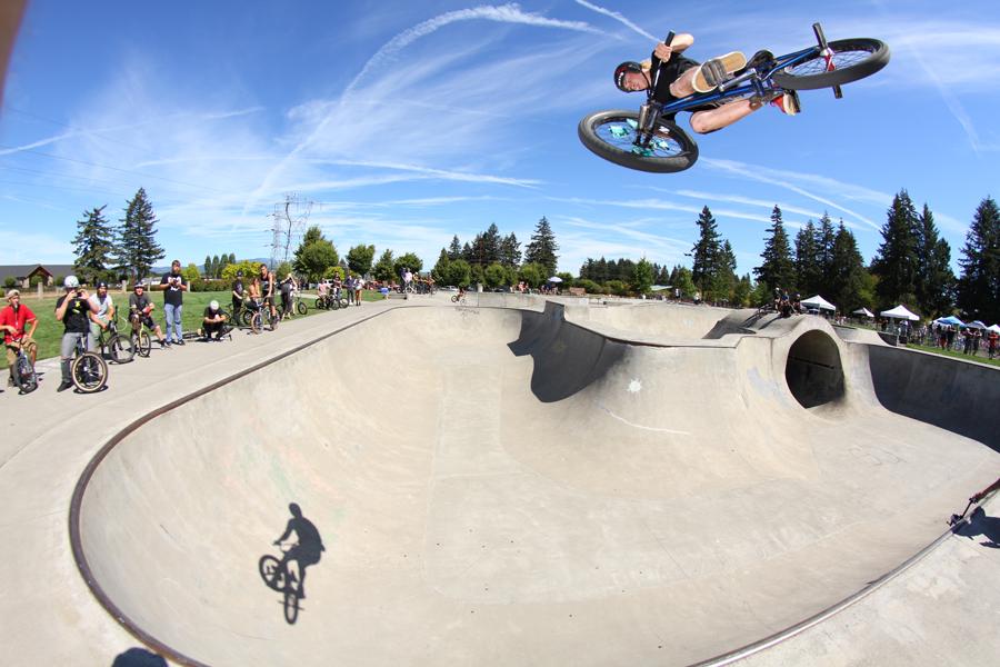John Battreal // Air // Pacific Park Skatepark // Vancouver, WA