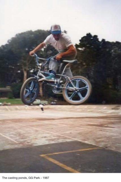 "Maurice ""Drob"" Meyer // Speedbump Jump // 1987"