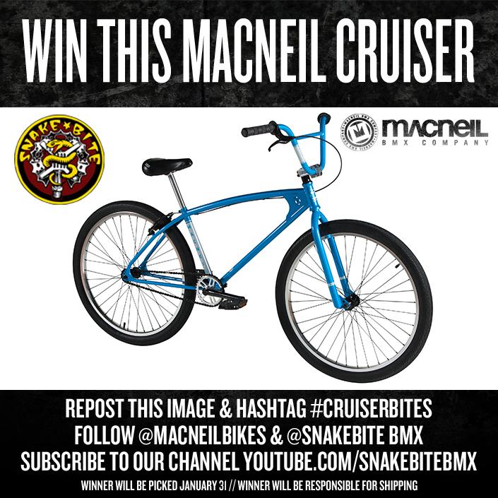 "Macneil Bikes 26"" BMX Cruiser"