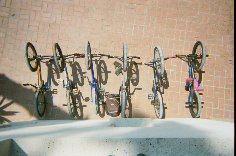 BMX Bikes at Rooftops Pool Party