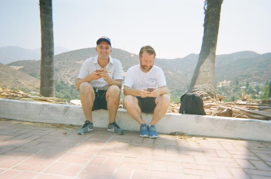 Robin Fenlon & Ian Morris at Rooftops Pool Party