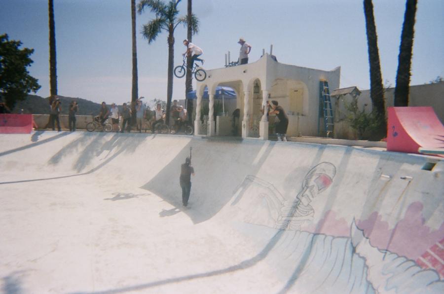 Tyler Fernengle // Ninja Drop // Rooftops Pool Party