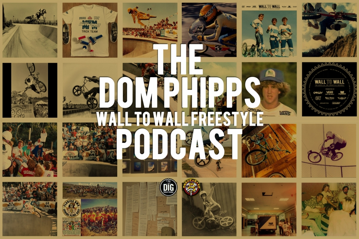 Dom Phipps // Wall to Wall Freestyle // Podcast // Snakebite X Dig BMX