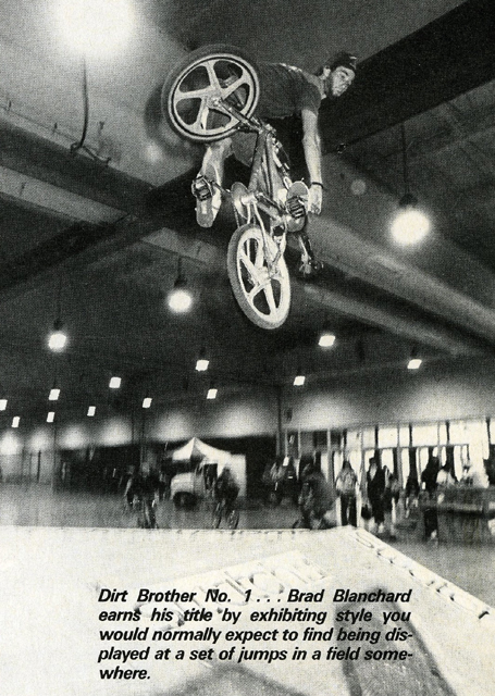 Brad Blanchard // Turndown // 2hip Meet The Street // Salem, OR // 1989