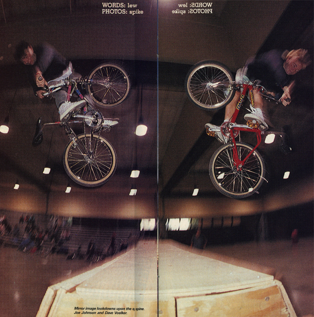 Joe // Johnson & Dave Voelker-Turndown // 2-hip // Meet The Street // Salem, OR // 1989