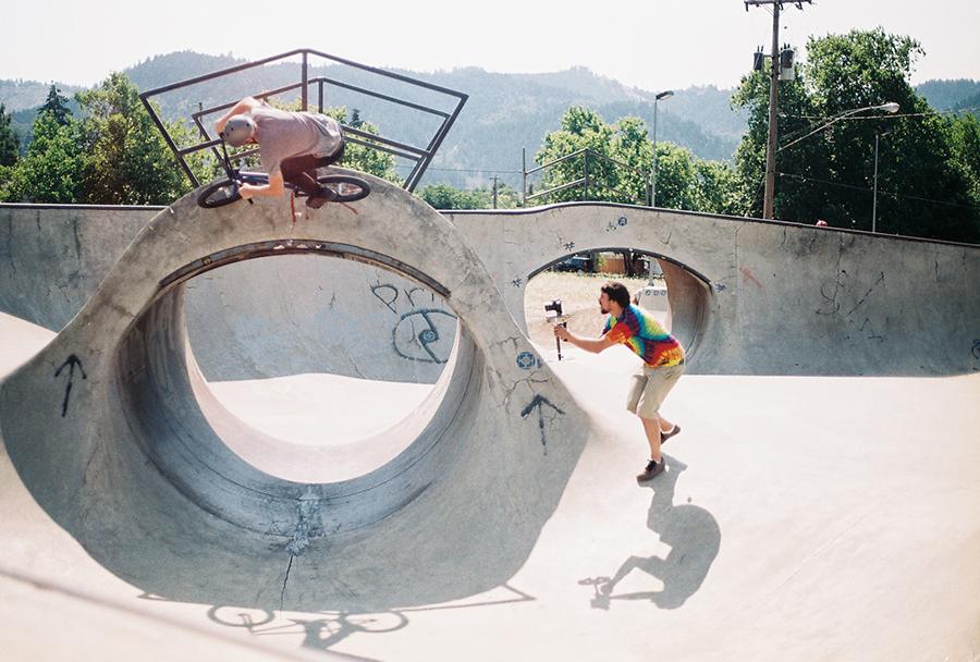 Ryan Barrett // Myrtle Creek, OR Skatepark // 2014 Boicott Weekend