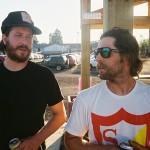 Ryan Davis and Mike Lund 2014 Boicott BMX Weekend