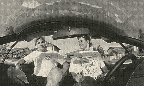 Mike Dominguez // Brian Blyther // November 1988 Freestylin'