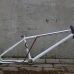 1986 Titan Ti Lite frame at BMX Museum Portland