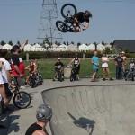 Evan Lane // High Air Contest // At the Goods BMX & BMX Museum // 2014 SOS Classic