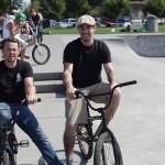 Jeremy Davis // Tommy Graven // At the Goods BMX & BMX Museum // 2014 SOS Classic