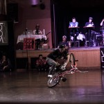 Takahiro Ikeda // Takahiro Ikeda, Upside down cross-armed cranking mega spins // Voodoo Jam 2014