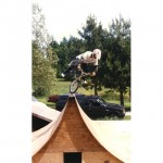 Cecil Milligan // No-footed Canadian Nosepick on a spine