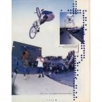 Taj Mihelich // Turndown // 1995 Hoffman OKC BS Contest // Ride BMX Issue 19
