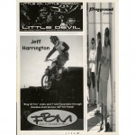 Little Devil Ad // FBM Ad // Playground Products Ad // Ride BMX // Issue 19