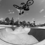 Andy Shohara // Air // 2015 King of Skatepark Jam // Photo: Colin Mackay