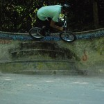 Dean Dickinson // Pool Stair Carve