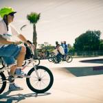 Haro Freestyler and Vans Freestyler Shoe // 2015 King of Skatepark Jam // Photo: Colin Mackay