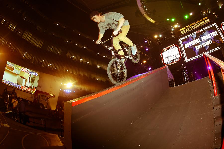 Bruno Hoffman // Ledge Nose Wheelie at Real Toughness